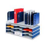 Box - 8 modrých přepážek + 9 přihrádek