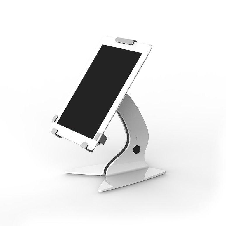 Trigrip držák na stůl, pro 13 palcový tablet - Bílý