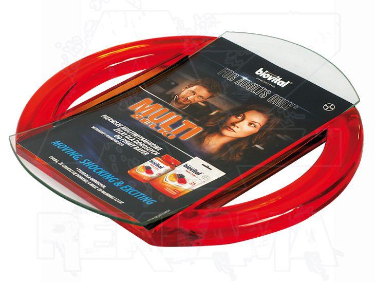 Dvojdílný reklamní mincovník RING BASE A-Z Reklama CZ