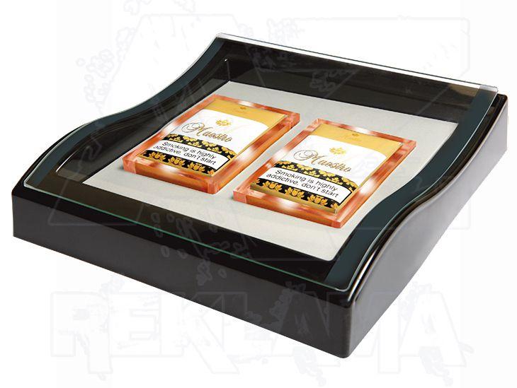 Prosvětlený mincovník BOX EXPO DE LUX LIGHT
