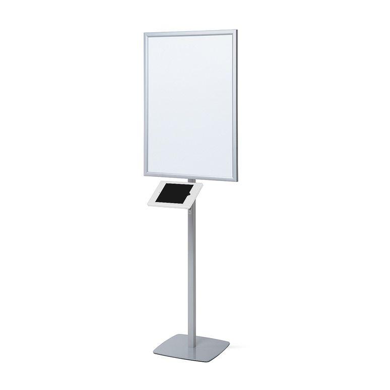 Slimcase stojan se světelným plakátovým rámem A1 - Bílý