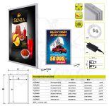 LED Světelný panel na plakáty - A2 Oboustraný A-Z Reklama CZ