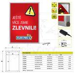 LED Světelný panel na plakáty - Posterlight A4 A-Z Reklama CZ