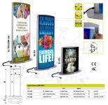 Reklamní LED světelný Totem - design Arcuato 2xB1 A-Z Reklama CZ