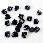 Cenovky 9x6, náhr. číslo 0, 20 ks, Bílé