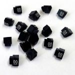 Cenovky 9x6, náhr. číslo 00, 20 ks, Bílé