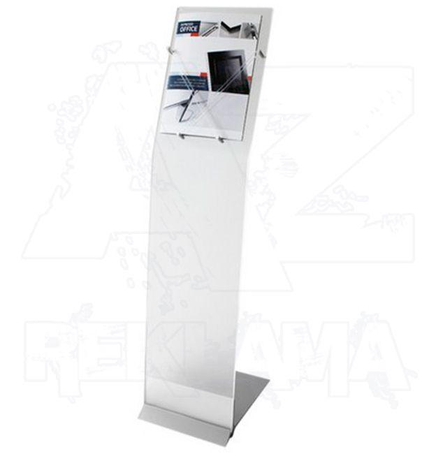 Info stojan Presstissimo Wing se silikonovým úchytem na A4