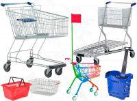 Nákupní vozíky-košíky