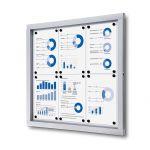 Informační vitrína Economy 6xA4