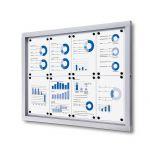 Informační vitrína Economy 8xA4