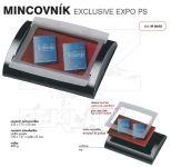 Dvojdílný reklamní mincovník EXCLUSIVE EXPO GLASS A-Z Reklama CZ