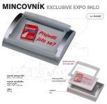 Dvojdílný reklamní mincovník EXCLUSIVE EXPO PS One A-Z Reklama CZ