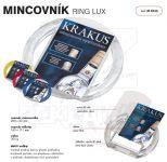 Dvojdílný reklamní mincovník RING LUX A-Z Reklama CZ
