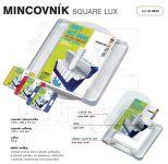 Dvojdílný reklamní mincovník SQUARE LUX A-Z Reklama CZ