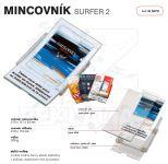 Dvojdílný reklamní mincovník SURFER 2 A-Z Reklama CZ