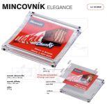 Dvojdílný reklamní plastový mincovník ELEGANCE One A-Z Reklama CZ