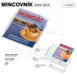 Dvojdílný reklamní plastový mincovník MINI MAX One A-Z Reklama CZ