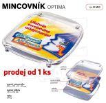 Dvojdílný reklamní plastový mincovník OPTIMA One A-Z Reklama CZ