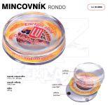 Dvojdílný plastový mincovník RONDO M 0440 One A-Z Reklama CZ