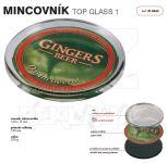 Dvojdílný reklamní skleněný mincovník TOP GLASS 1 One A-Z Reklama CZ