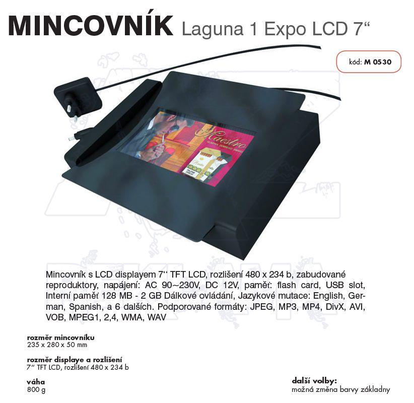 Multimediální mincovník LAGUNA 1 EXPO LCD