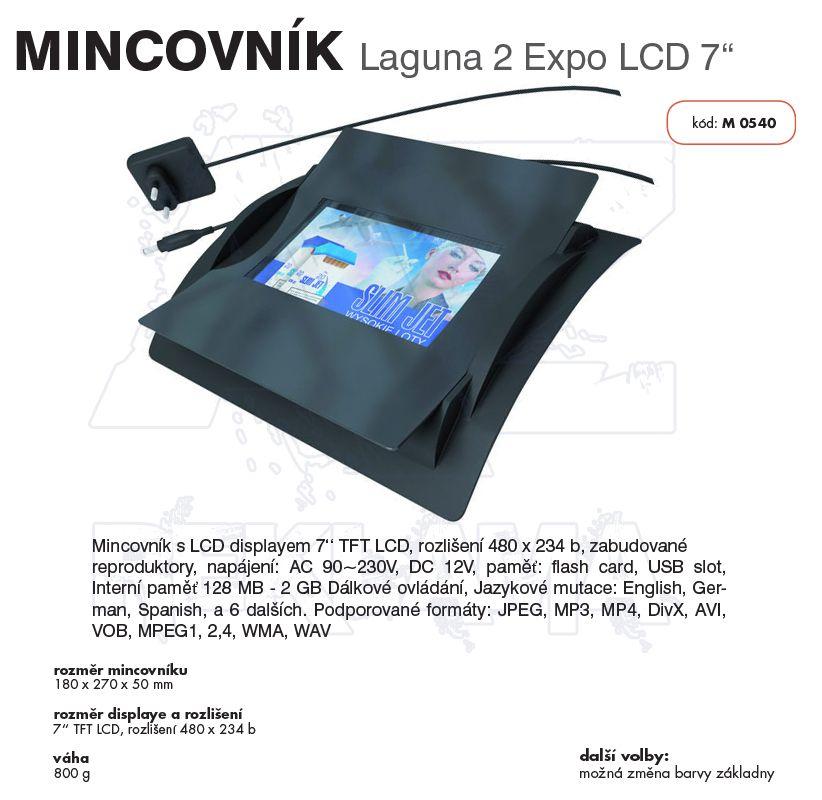 Multimediální mincovník LAGUNA 2 EXPO LCD