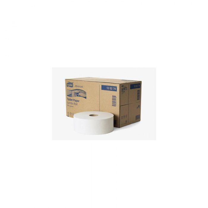 Tork Advanced toaletní papír - Jumbo role - bílý - balení 6 ks