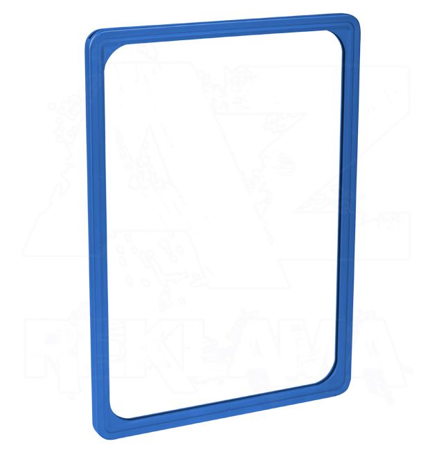 Plastový plakátový rámeček 100, A5, modrý
