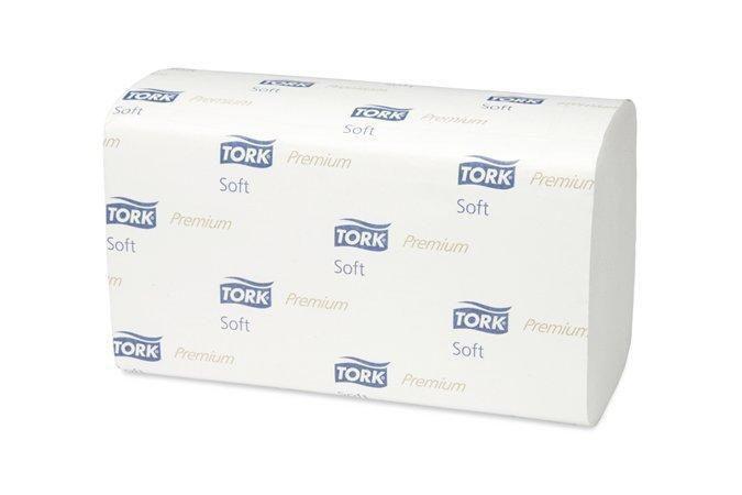 Tork Premium papírové ručníky skládané - jemné Dvouvrstvé