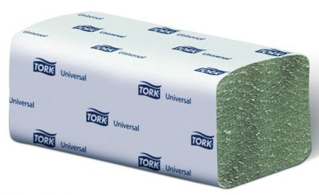Tork Universal papírové ručníky ZZ - jemné Jednovrstvé - Zelené