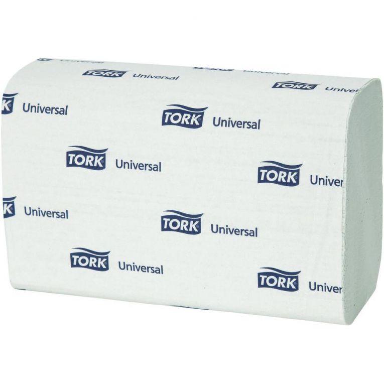 Tork Universal papírové ručníky ZZ - jemné Jednovrstvé - Bílé