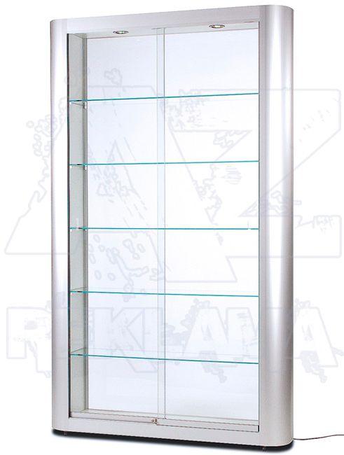 Designová osvětlená produktová vitrína SHOWCASE VRL-250