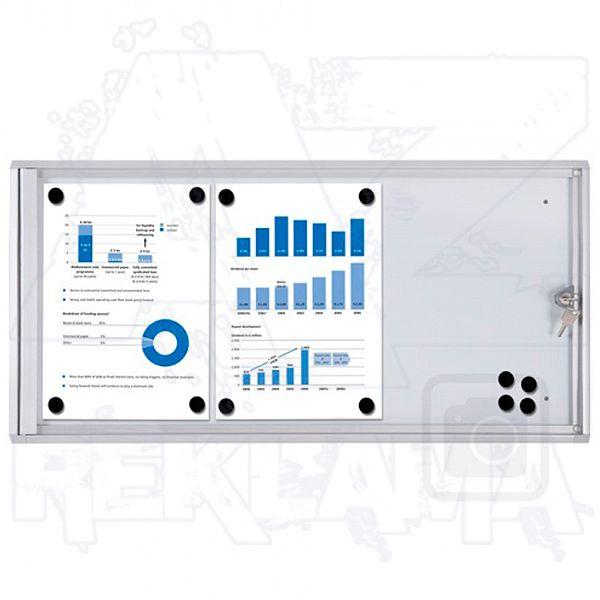 Informační Vitrína interiérová - 3xA4 SCRITTO ECONOMY A-Z Reklama CZ