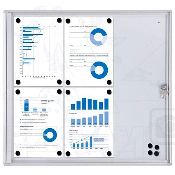Informační Vitrína interiérová - 6xA4 SCRITTO ECONOMY A-Z Reklama CZ