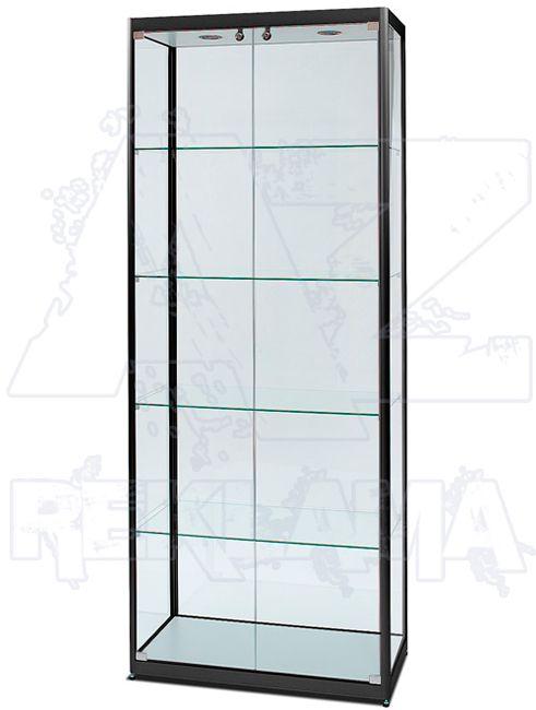 Prosklená osvětlená produktová vitrína SHOWCASE VR-24-800BL-F