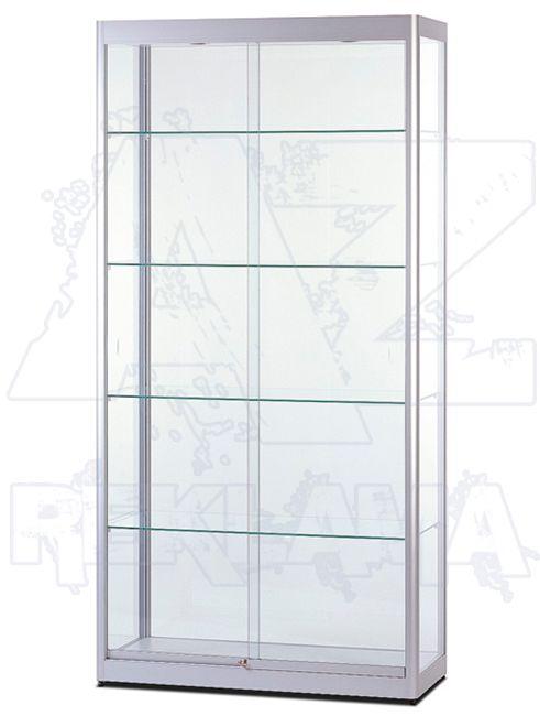 Prosklená osvětlená produktová vitrína SHOWCASE VR-32-1000