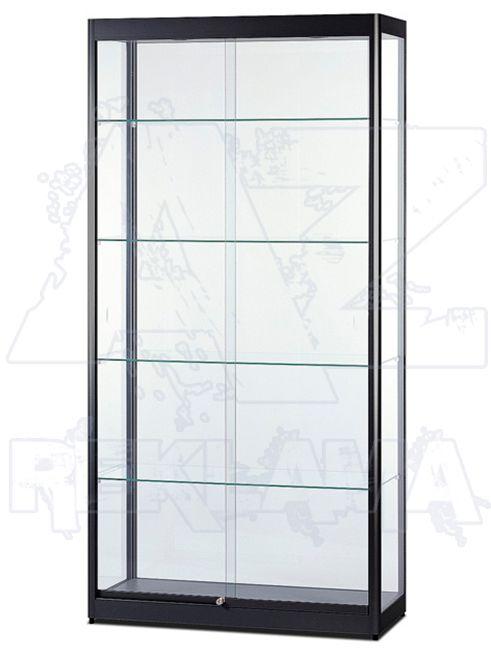 Prosklená osvětlená produktová vitrína SHOWCASE VR-32-1000BL