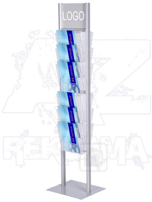 Top Logo stojan na letáky Brochure Stands 4x3W230 A-Z Reklama CZ