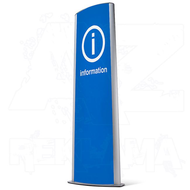 Informační systém Info Totem 2xB1 nad sebou