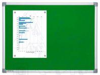 Textilní Zelená nástěnka 100x150