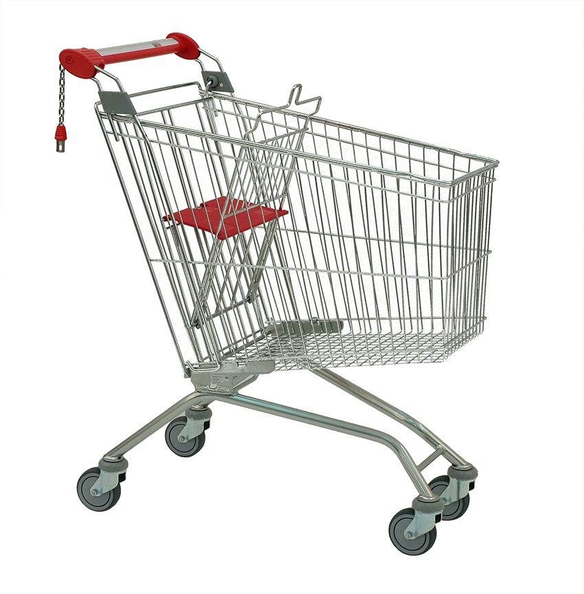 Nákupní vozík Avant MEC 232 - Košík s dětskou sedačkou