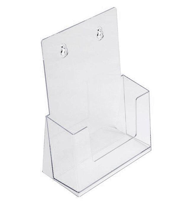 SCRITTO Plastový stojánek na letáky A5 stojací