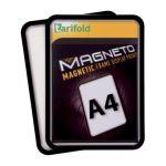 Magnetická kapsa A4, 2ks, Černá