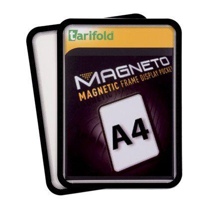 Magnetická kapsa Tarifold A4, 2ks, Černá