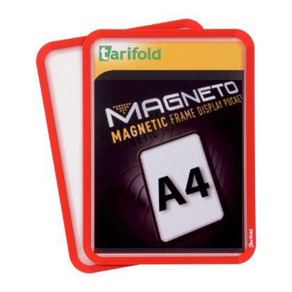 Magnetická kapsa Tarifold A4, 2ks, Červená