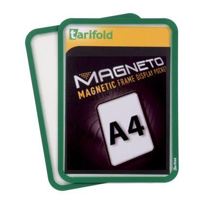 Magnetická kapsa Tarifold A4, 2ks, Zelená