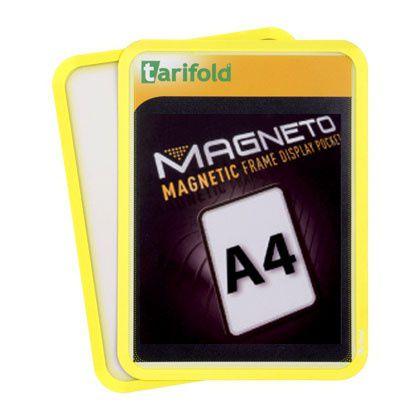 Samolepící kapsa A4 (sada 2ks), nepermanentní, Žlutá