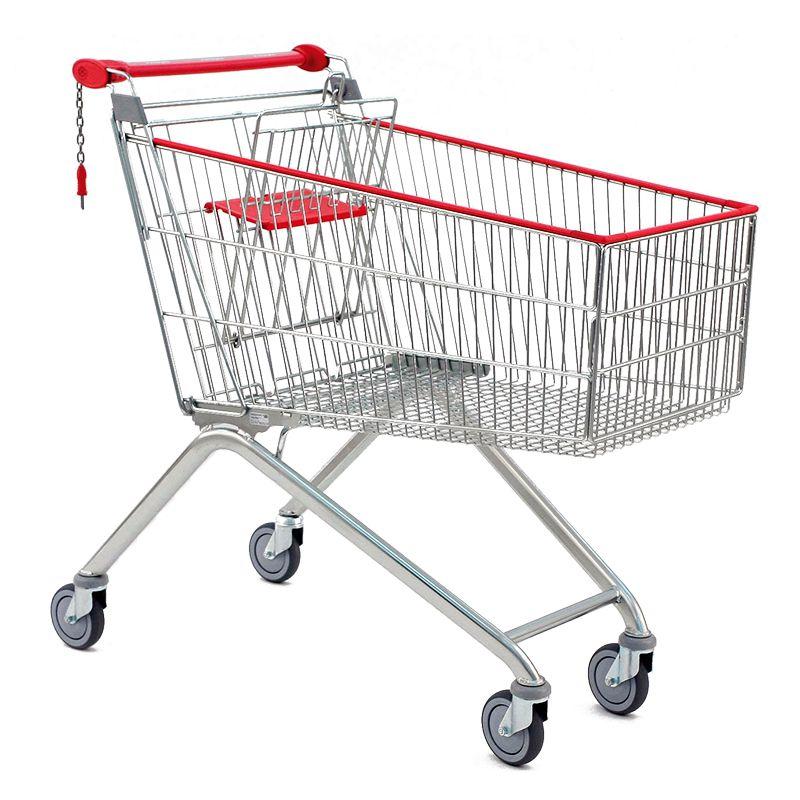 Nákupní vozík Avant 180 - Košík s dětskou sedačkou