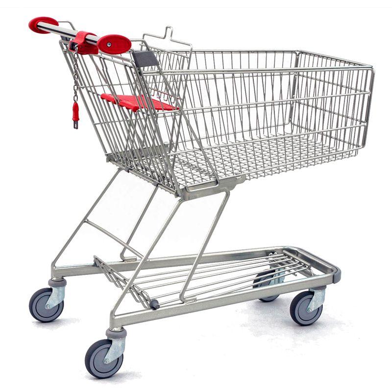 Nákupní vozík Classic 140 - Košík bez dětské sedačky