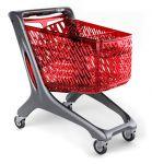 Nákupní vozík ECO 160 se sedačkou